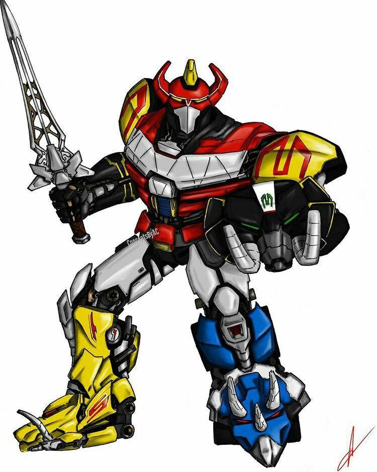 Megazord Drawing at GetDrawings | Free download