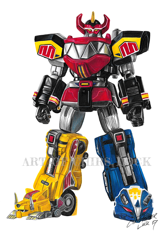 Megazord Drawing At Getdrawings Com Free For Personal