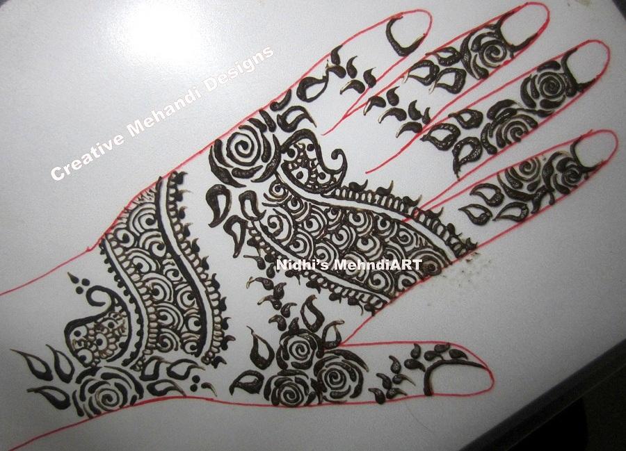 900x649 Advance Indo Arabic Henna Mehndi Design With Tutorial Nidhi's Art