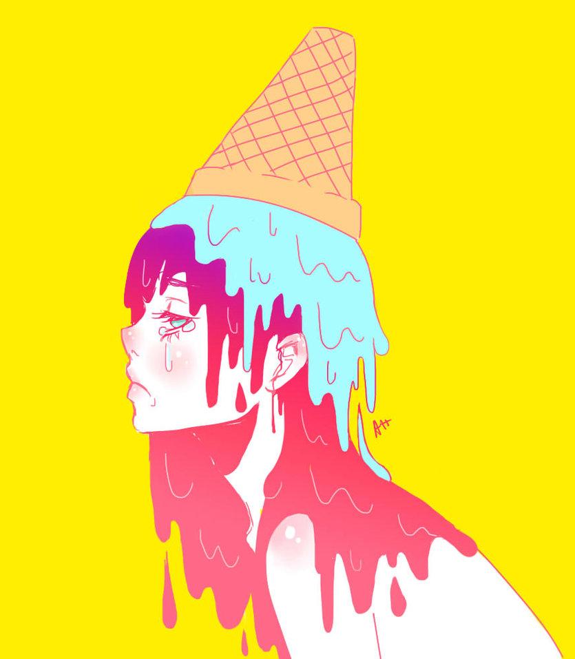 835x957 Ice Cream Melt By Radio Aktive