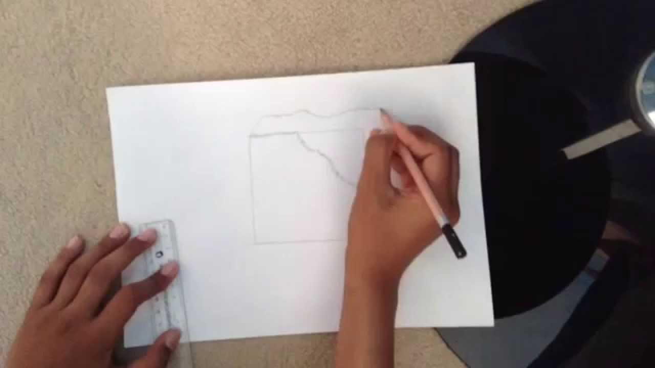 1280x720 How To Draw A Ice Cube.