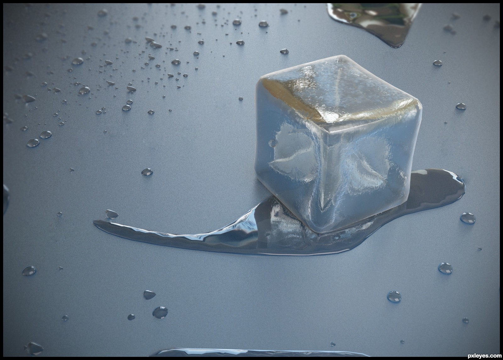 1600x1144 Icy Melt Picture By Bitmap For Ice Cube 3D Contest