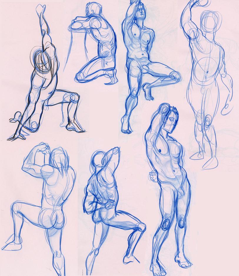 812x938 Men Life Drawing 3rd Sem. By S Moogle