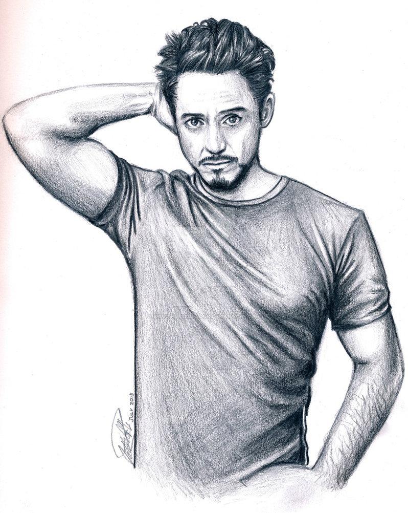 798x1002 Robert Downey Jr. Pencil Drawing By Breathlessdragon