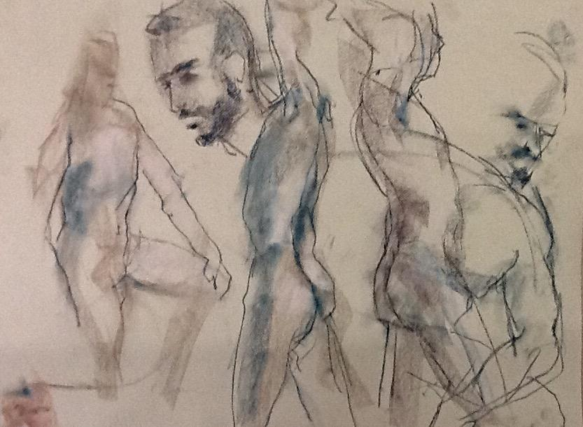 833x610 Men's Life Drawing Sessions Wmale Model