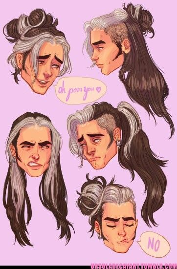 362x551 Olly's Hair By Ursuladecay Inspiration Art Styles I Like
