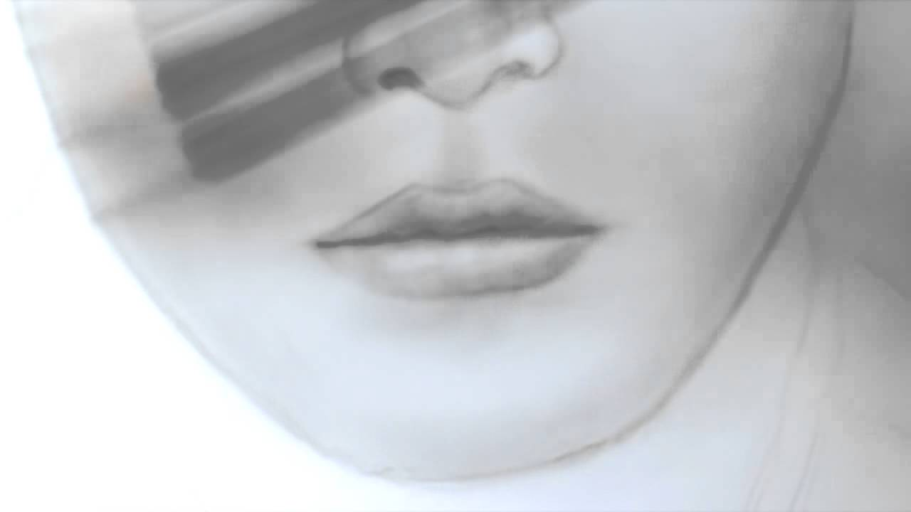 1280x720 How To Draw Lips Amp Nose (Man, Realistic) Part 3 Of Draw A Face
