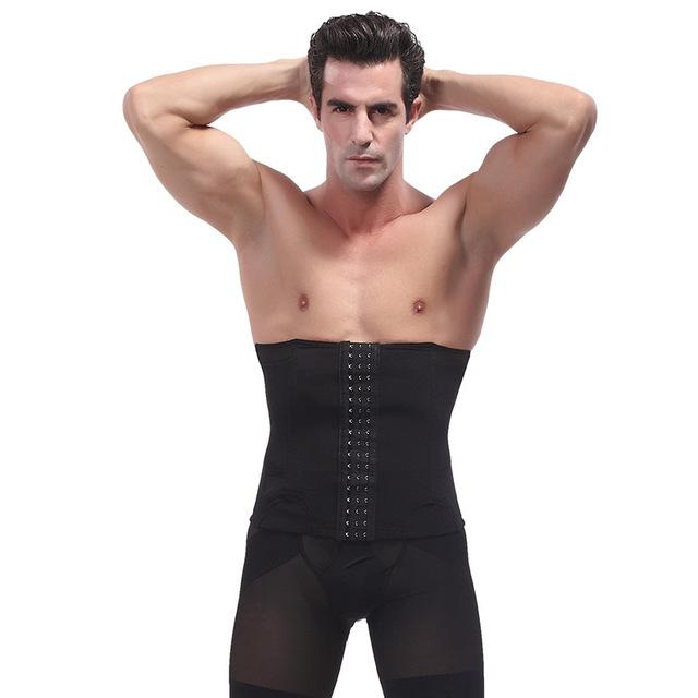 640x640 Kwan.z Bodysuit Men Drawing Abdomen Belt Corset Waist Belt Plastic