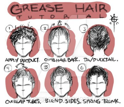 400x345 Grease Hair Tutorial (Male) By Soas95