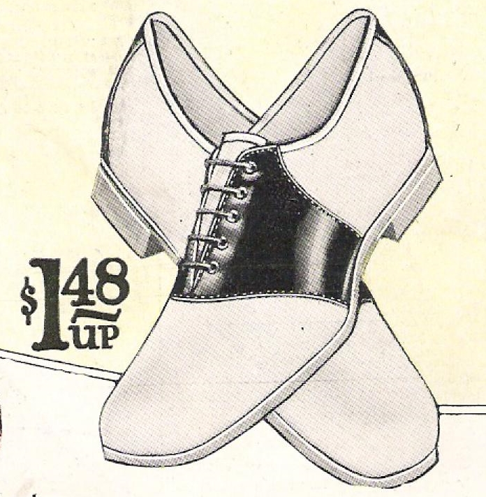 696x712 Saddle Shoes History 1920s To 1960s