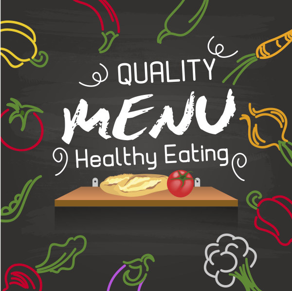 600x598 Hand Drawing Vegetables And Menu Vector Free Vector In Adobe