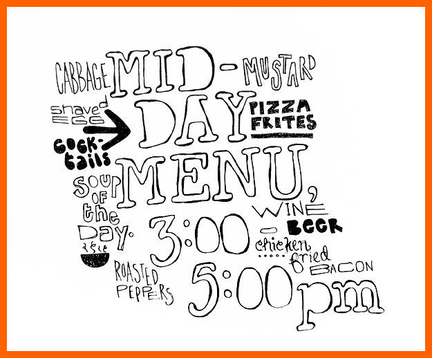 625x518 Mid Day Drawing. Mid Day Menu. Bfrancesi