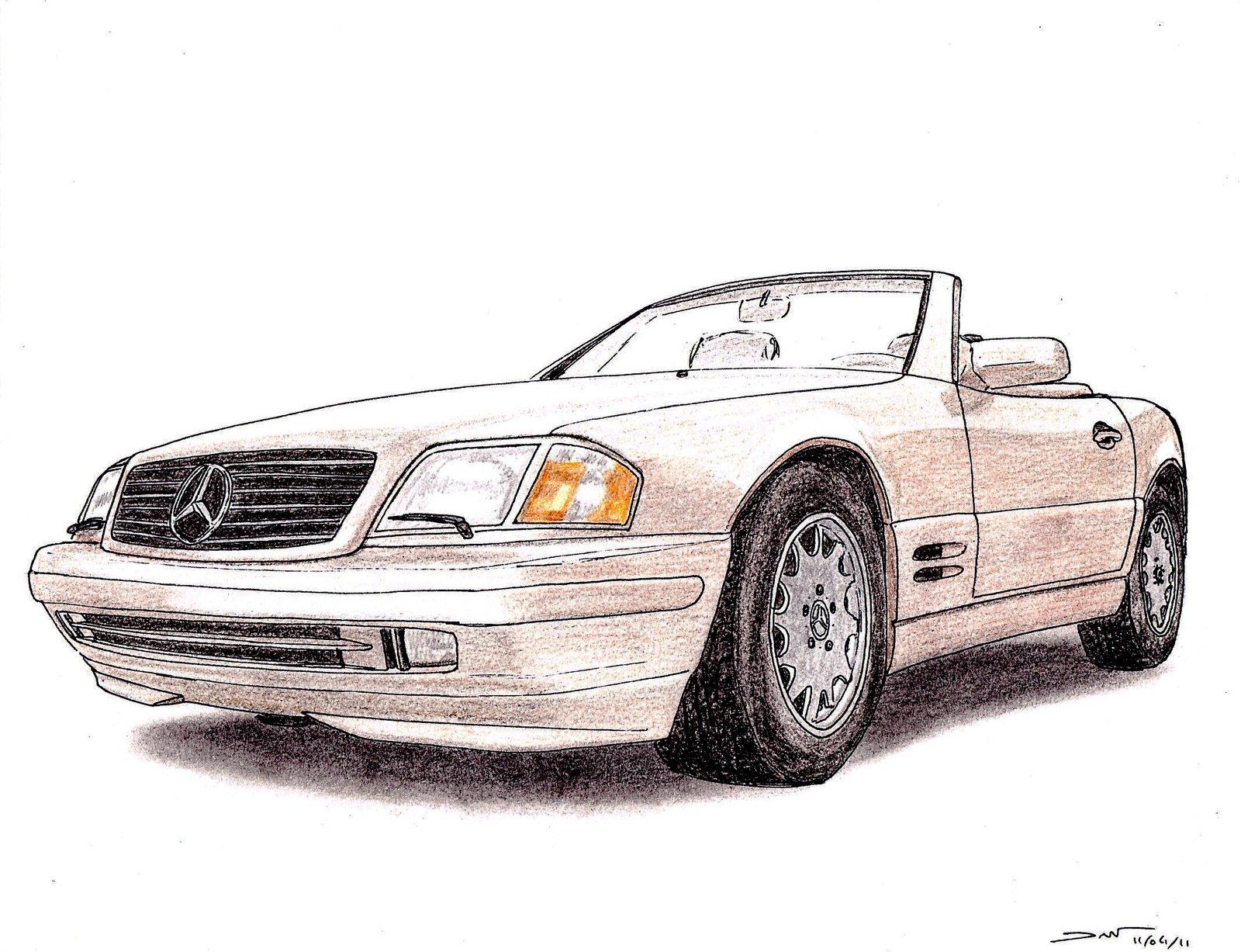 1600x1227 1996 Mercedes Benz Sl 500 R129 By Twistedmethoddan