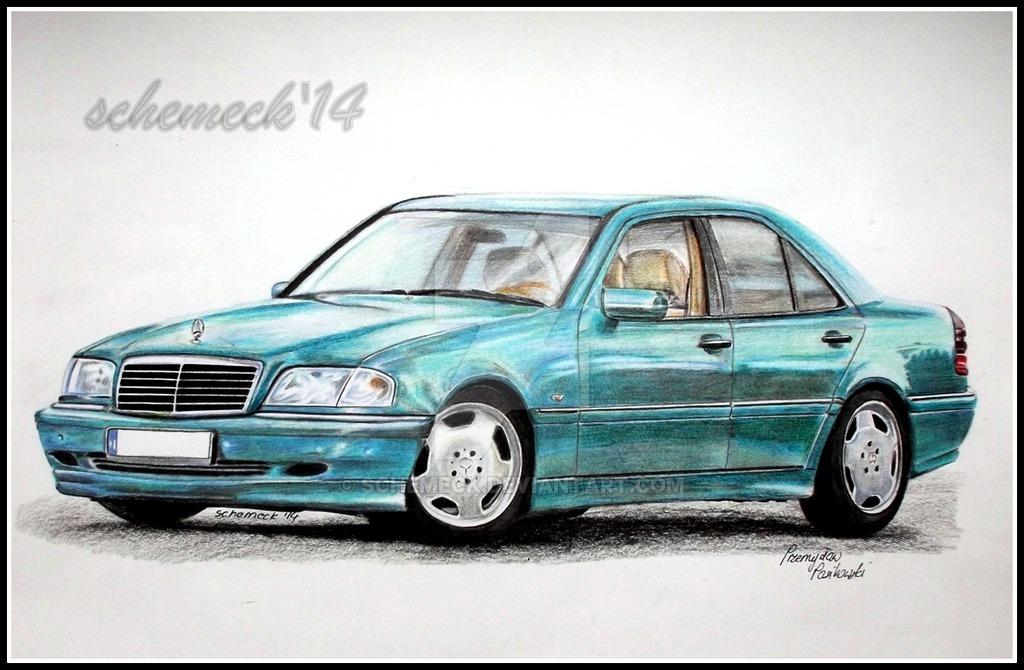 1024x670 Mercedes Benz W202 C240 By Schemeck