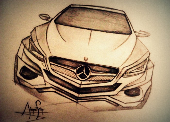 700x502 Mercedes Concept Drawing Arch