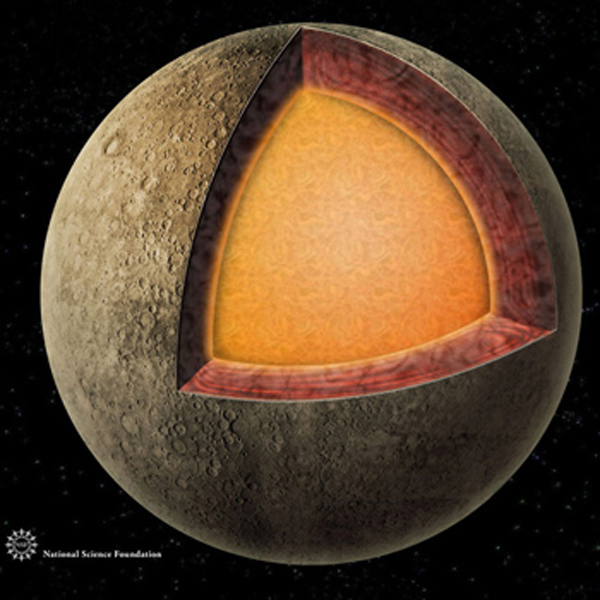 600x600 Planet Mercury Drawing