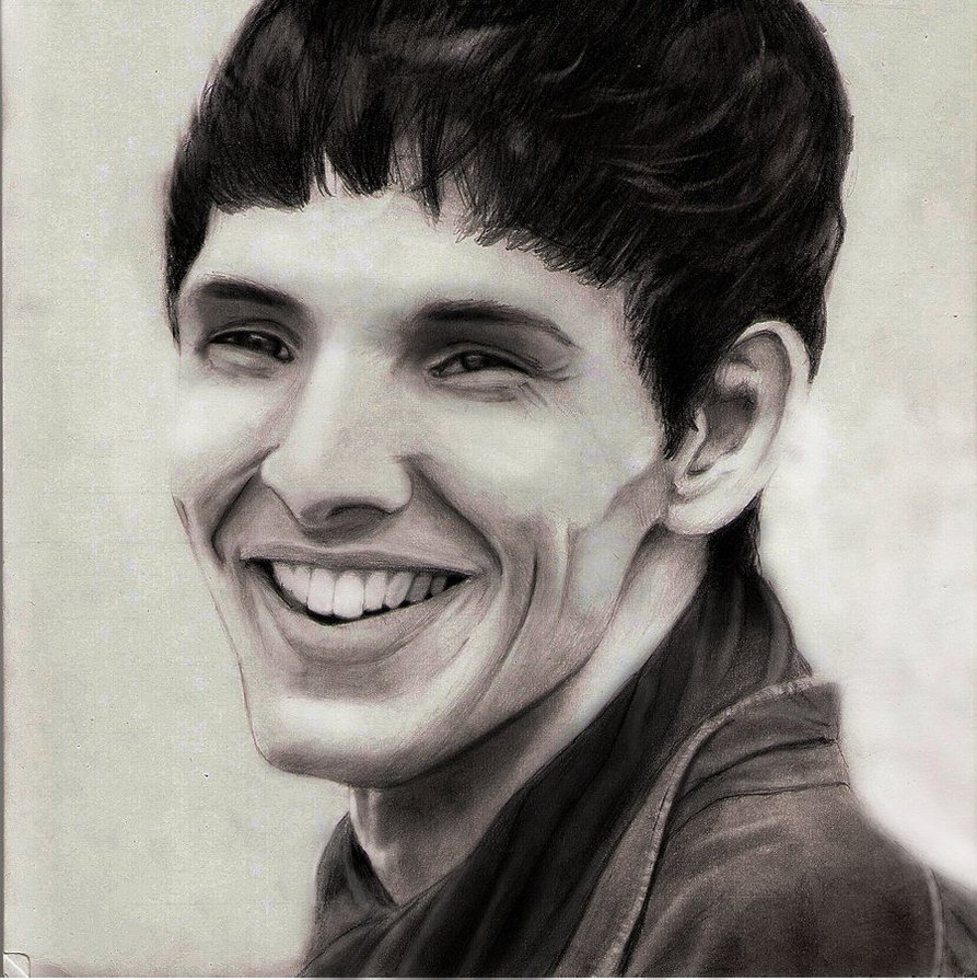 893x895 Colin Morgan As Merlin By Naesagern
