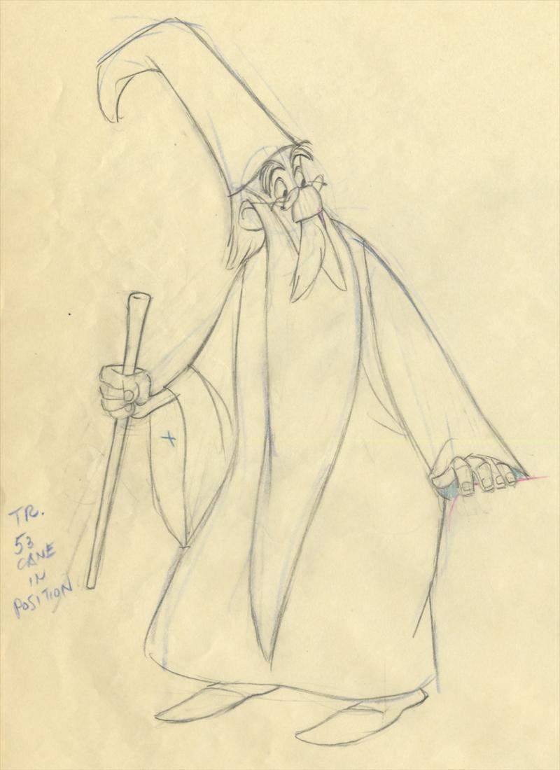 800x1100 Disney The Sword In The Stone Animation