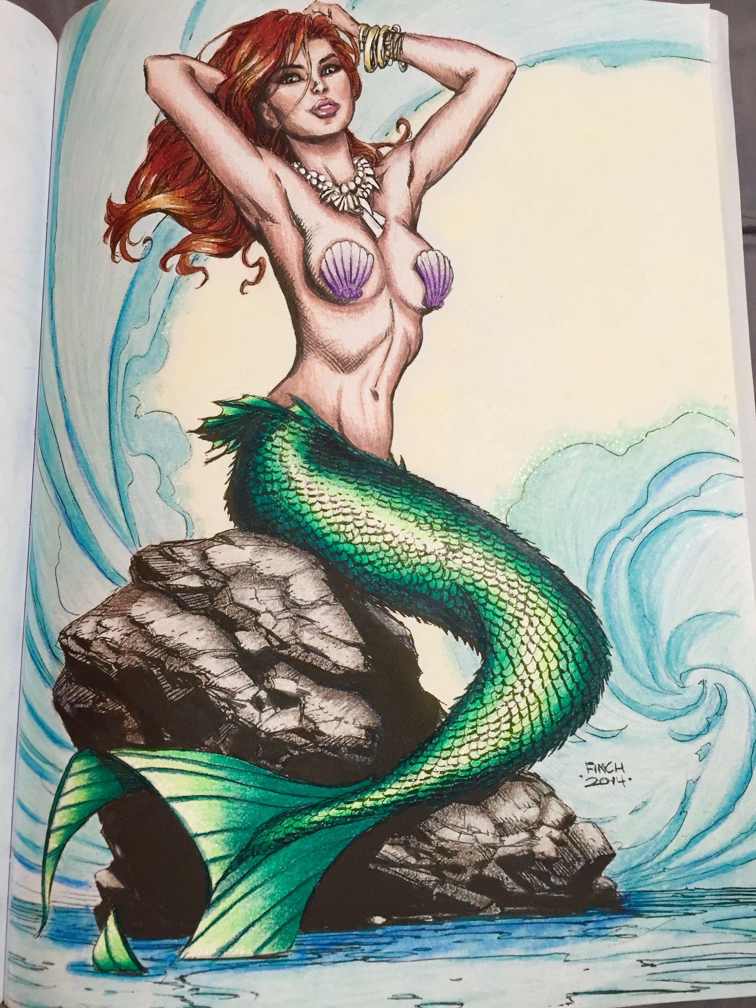 Mermaid Drawing Book at GetDrawings com | Free for personal