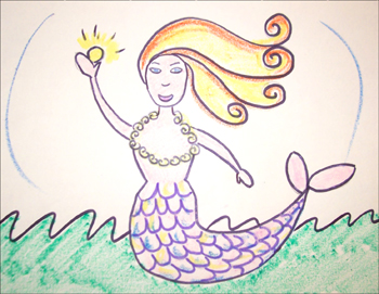 350x271 How To Draw Fairy Tales How To Draw A Mermaid Easy Step By Step