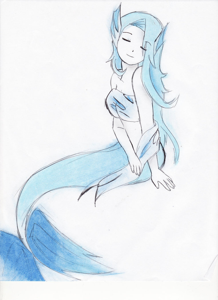 762x1048 Anime Mermaid By Xnitarax