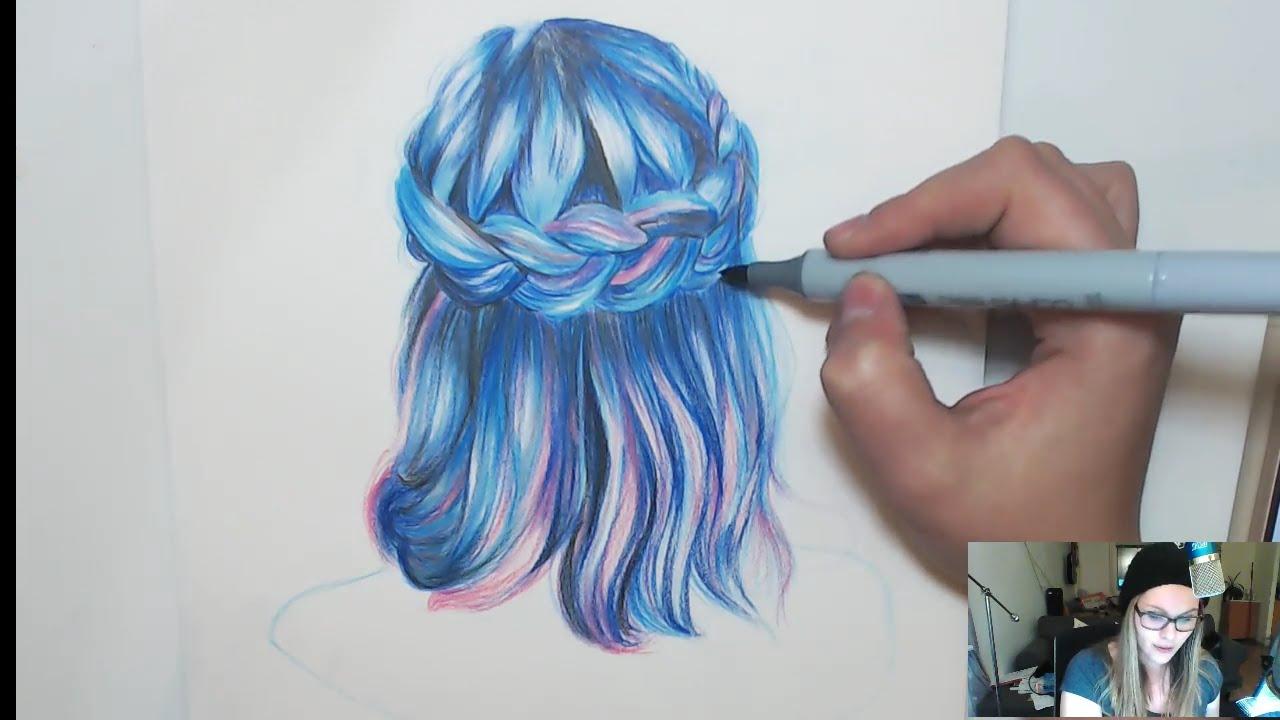1280x720 How To Draw Mermaid Hair