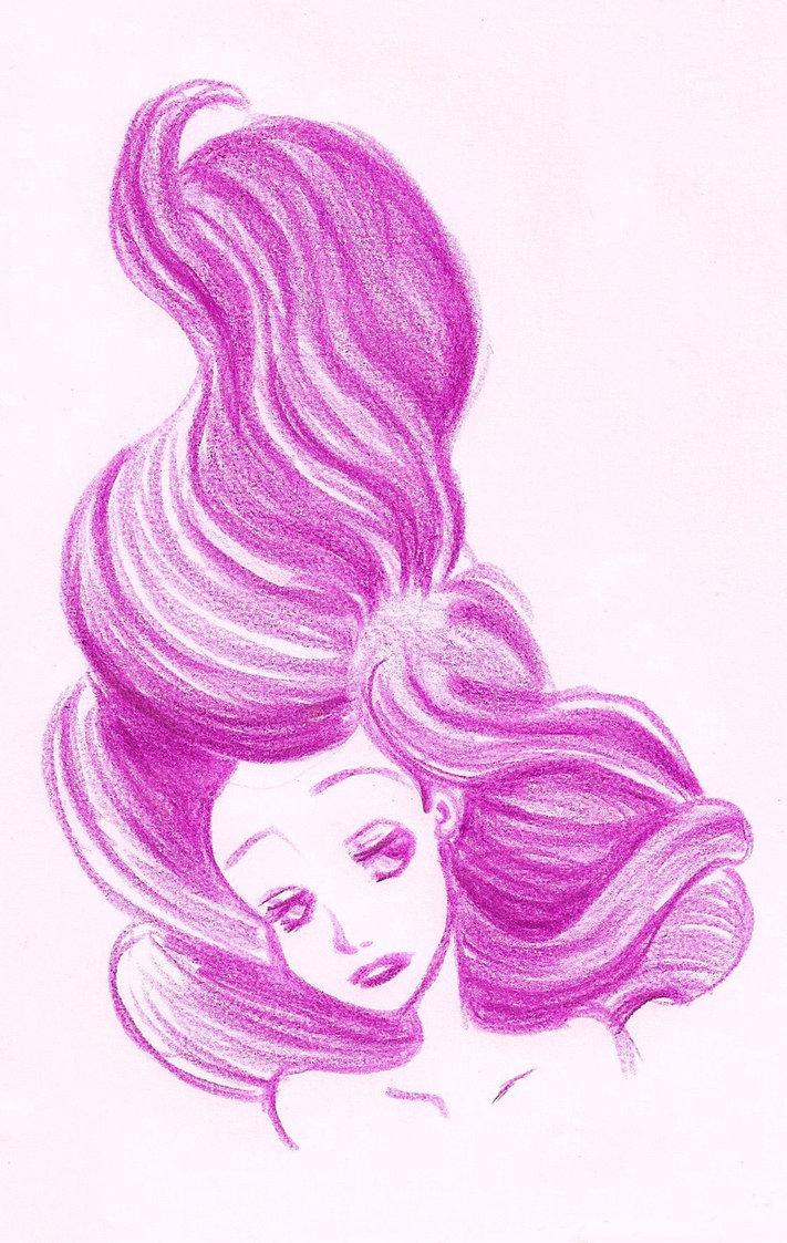 711x1123 Mermaid's Hair By Thesilke