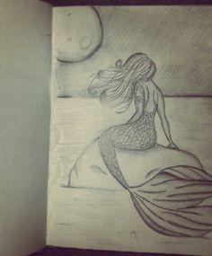 236x285 Mermaid Tattoo Line Art By Risarjm On Sednas