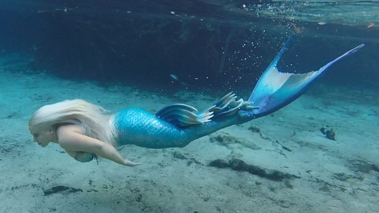 1280x720 Bill's Amazing Swim With A Mermaid!