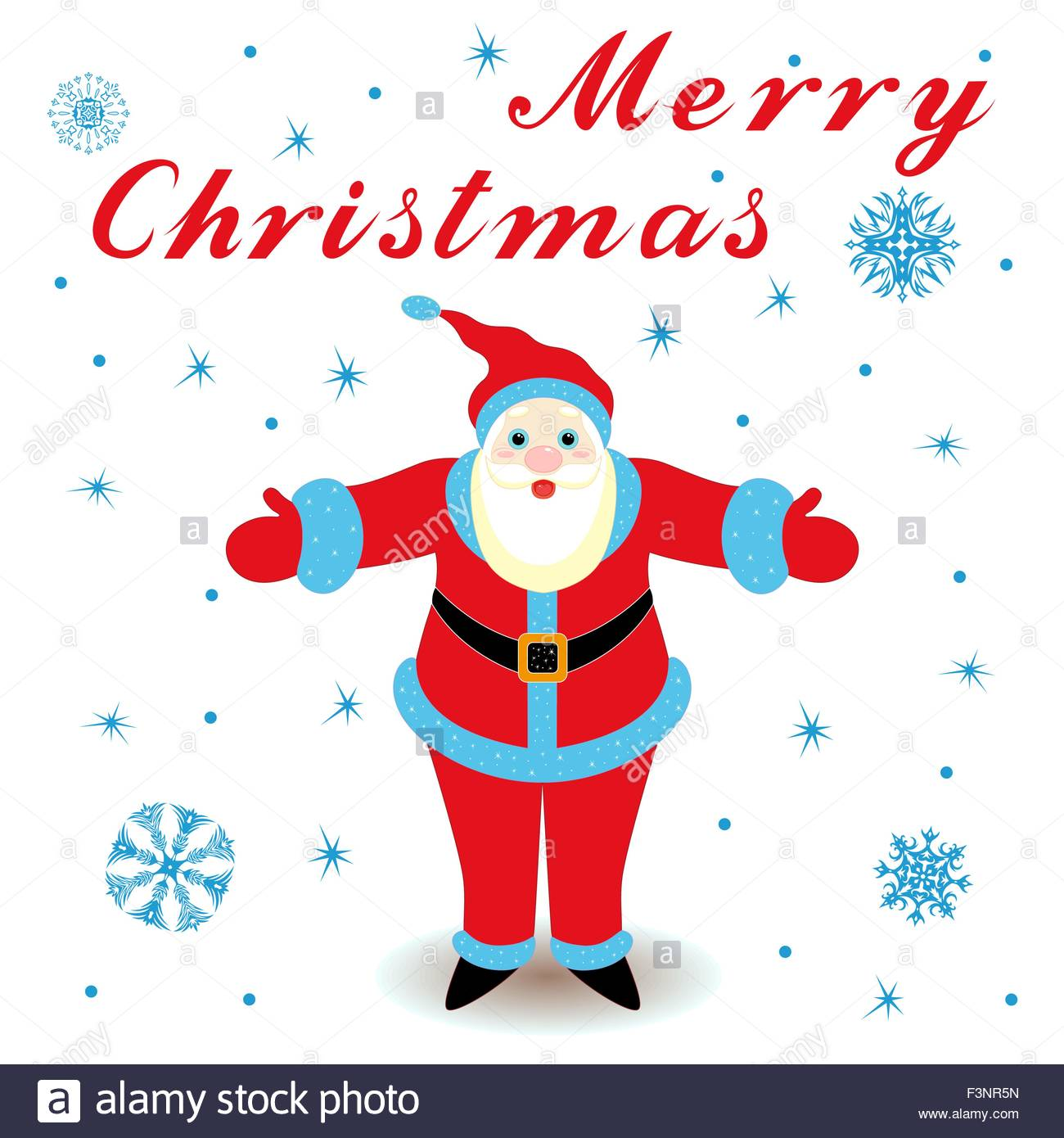 1300x1390 Merry Christmas With Happy Santa Claus, Hand Drawing Cartoon