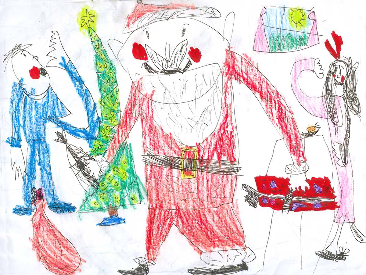 Merry Christmas Drawing Images at GetDrawings.com | Free for ...