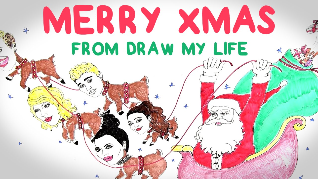 1280x720 Merry Christmas Draw My Life