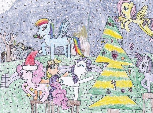 500x372 My Little Pony Friendship Is Magic Images My Christmas Pony