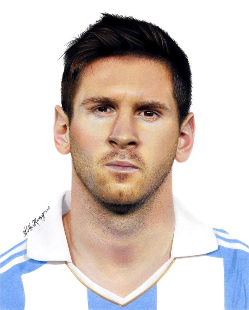 800x998 Drawing Lionel Messi By Heatherrooney