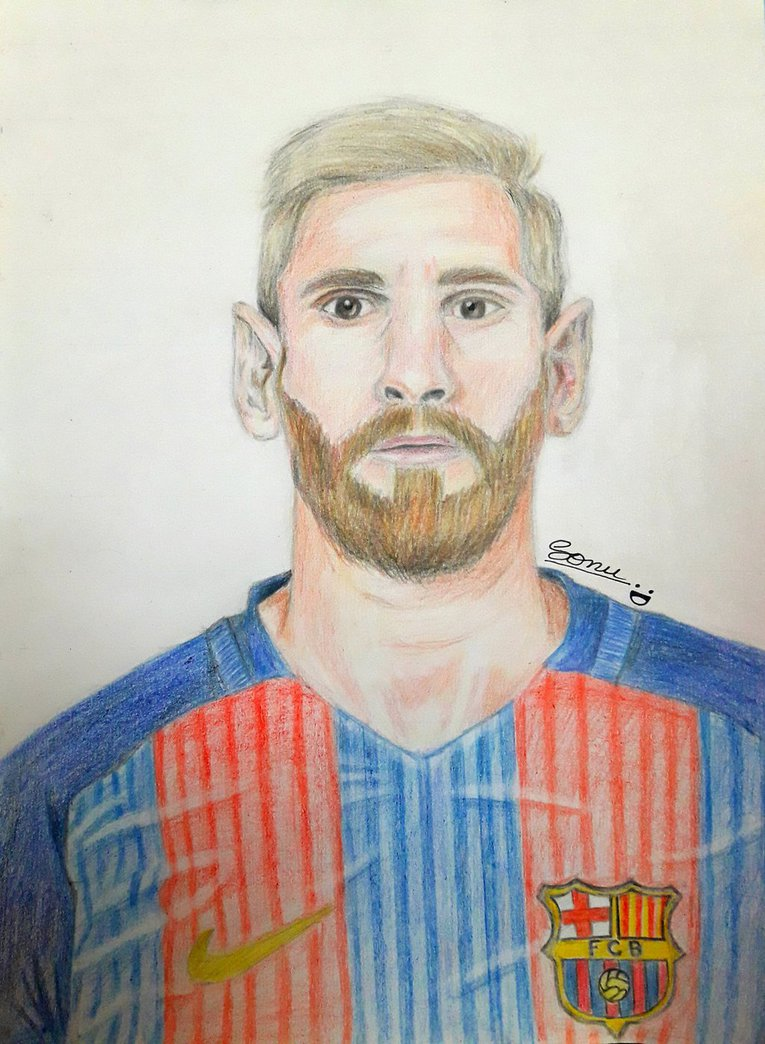 765x1044 Lionel Messi By Sonu9