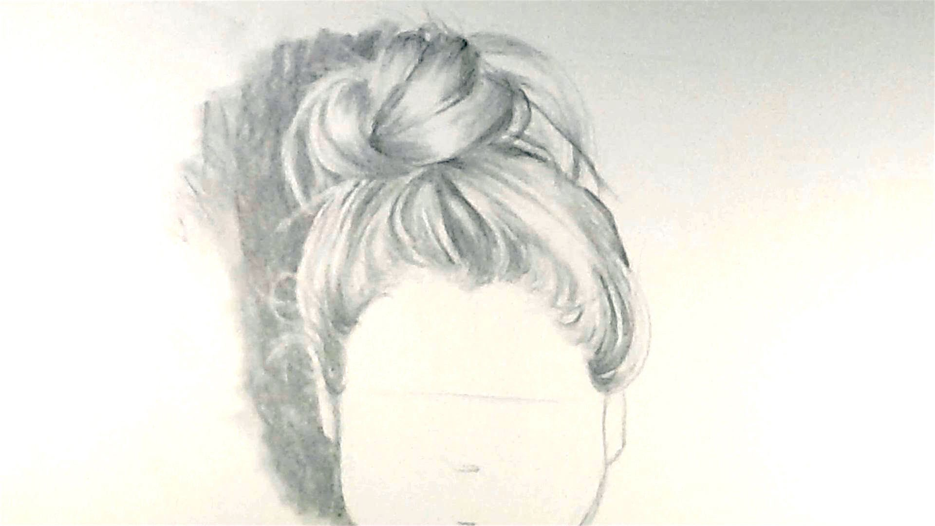 1920x1080 How To Draw Hair In A Bun