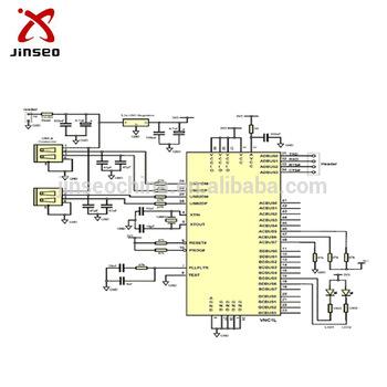 350x350 Professional Metal Detector Circuit Board Design