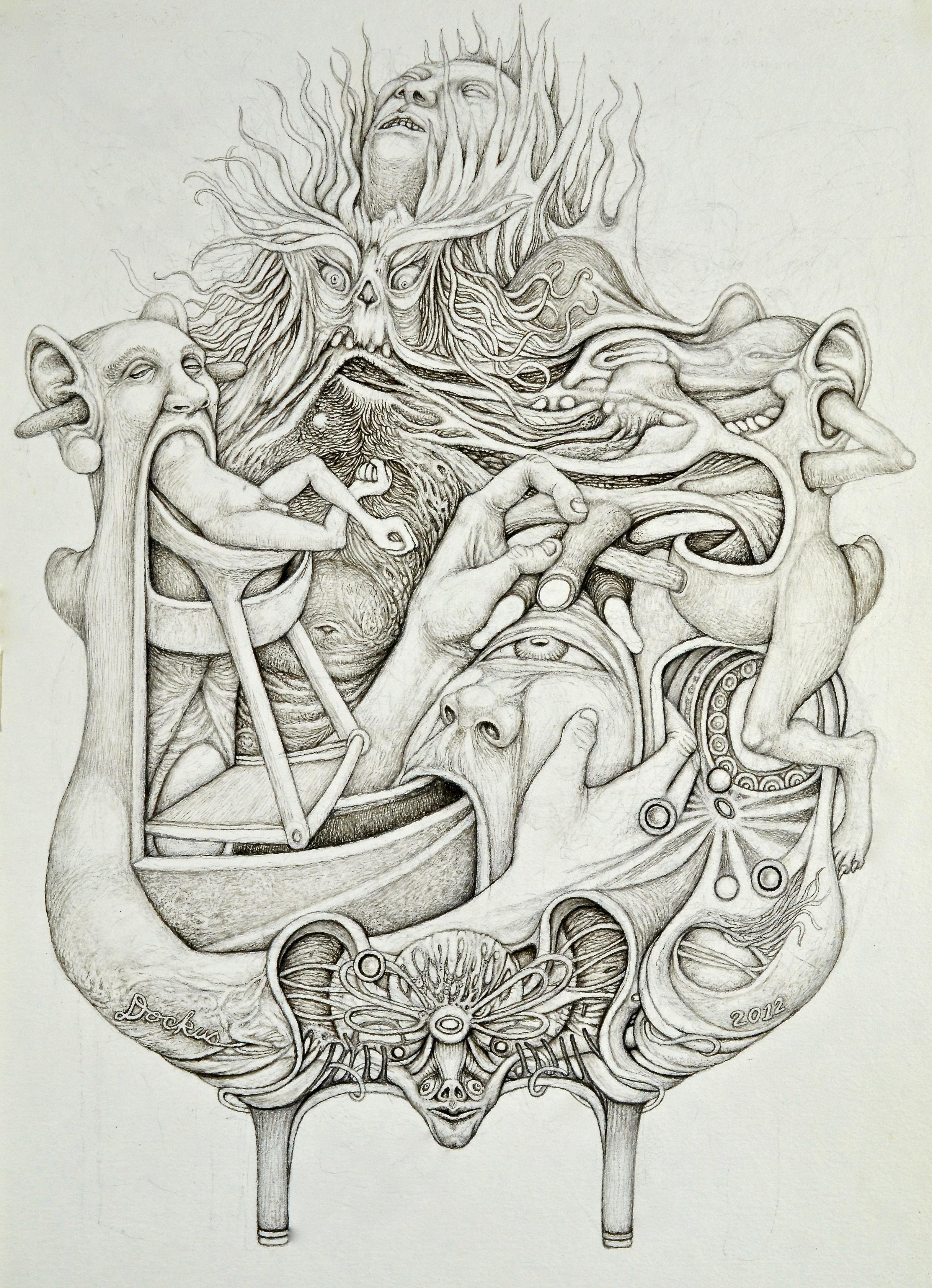 3157x4364 Metamorphic Heraldry The Art Of John Dockus