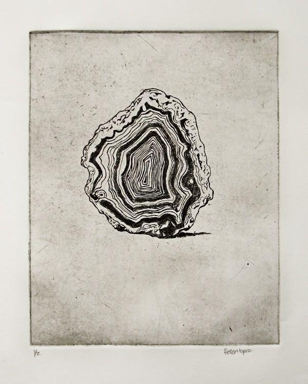 602x750 Helenhelen Here Is My Metamorphic Rock Print I Agates