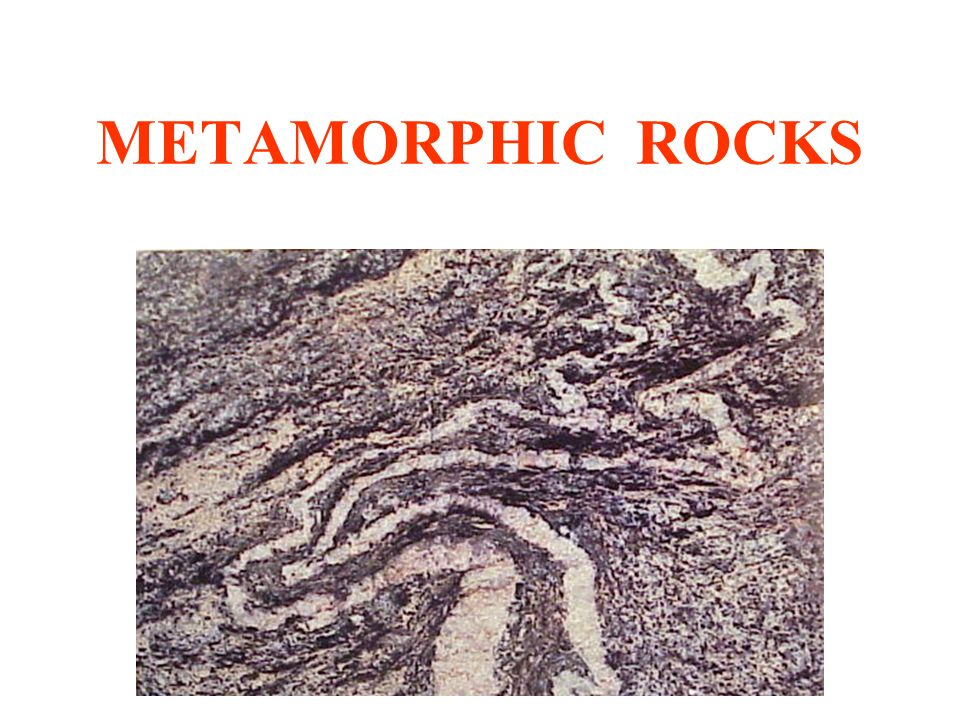 960x720 Metamorphic Rocks. Metamorphism Alteration Of Any Previously