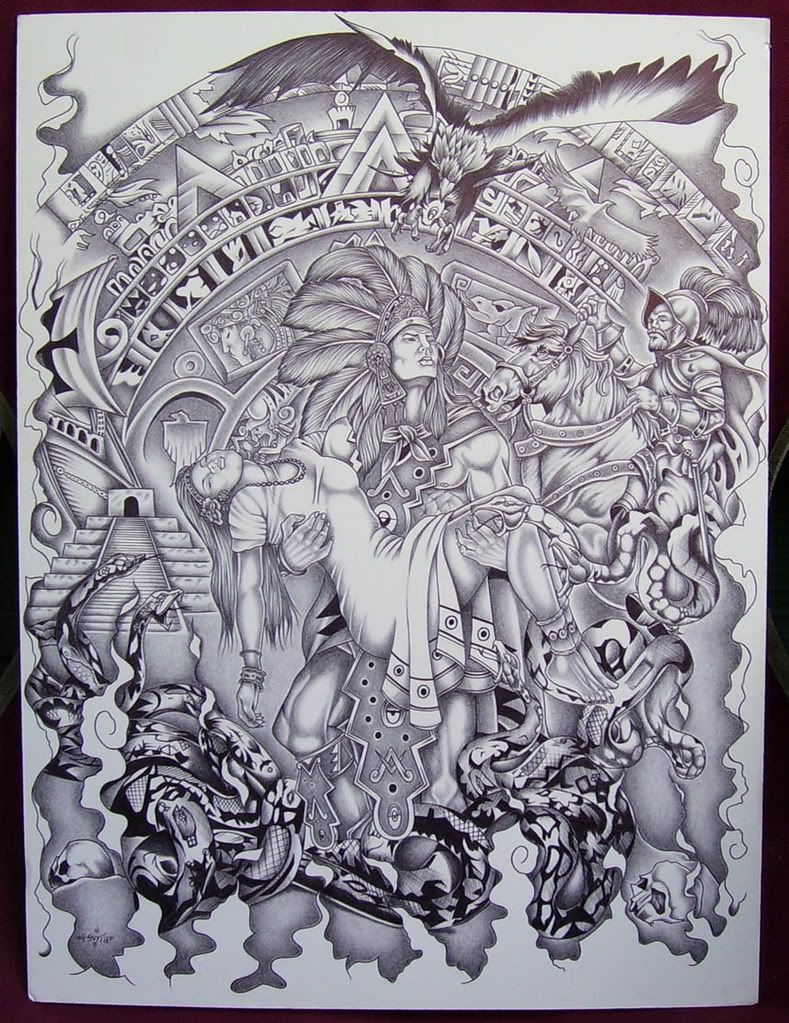 789x1023 Mexican Aztec Art Aztec Art Drawings Page 7 Tattoo