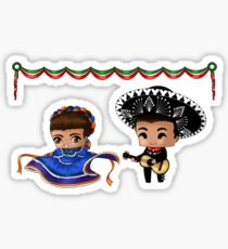 210x230 Mexican Culture Drawing Stickers Redbubble