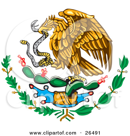 Mexican Flag Eagle Drawing At Getdrawings Free For Personal