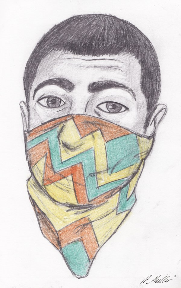 Image of: Tattoo 600x951 Mexican Gangster By Neroursus Aboutmissionsinfo Mexican Gangster Drawing At Getdrawingscom Free For Personal Use