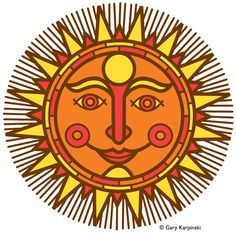 236x233 Mexican Suns Folk Art, Mexicans And Folk