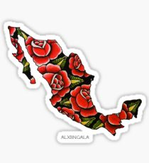 210x230 Mexico Drawing Stickers Redbubble