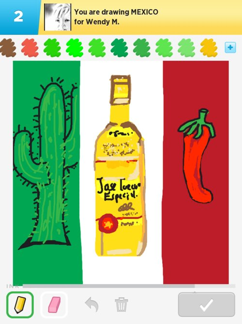 500x667 Mexico Drawings