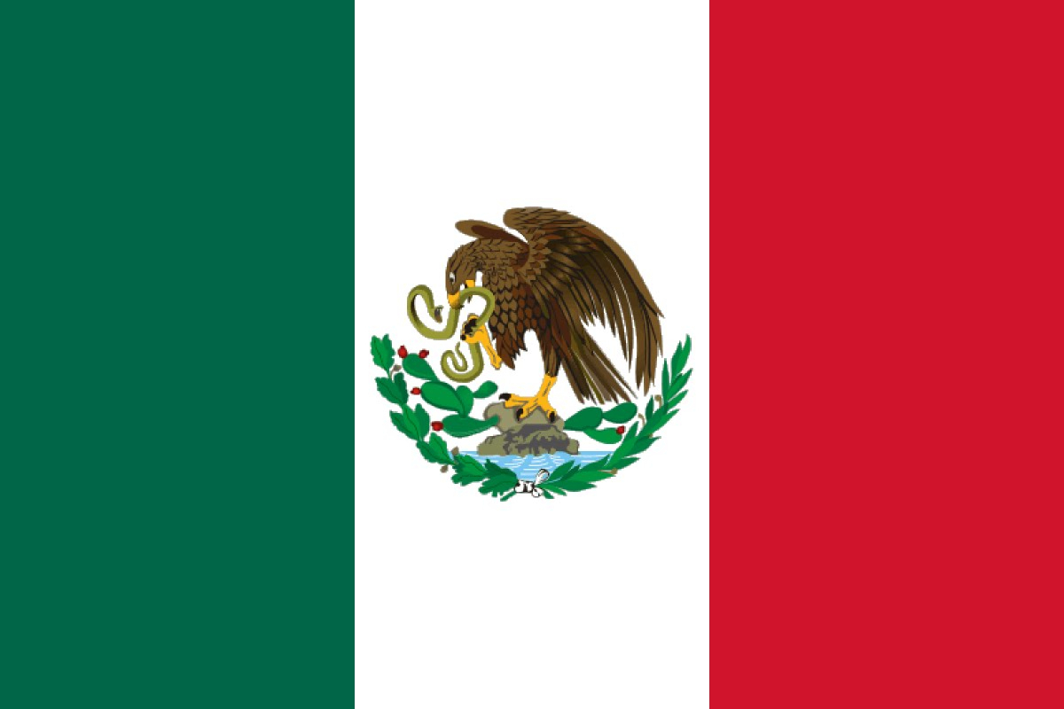 1200x800 Drawing Of Mexican Flag Drawn Flag Mexican
