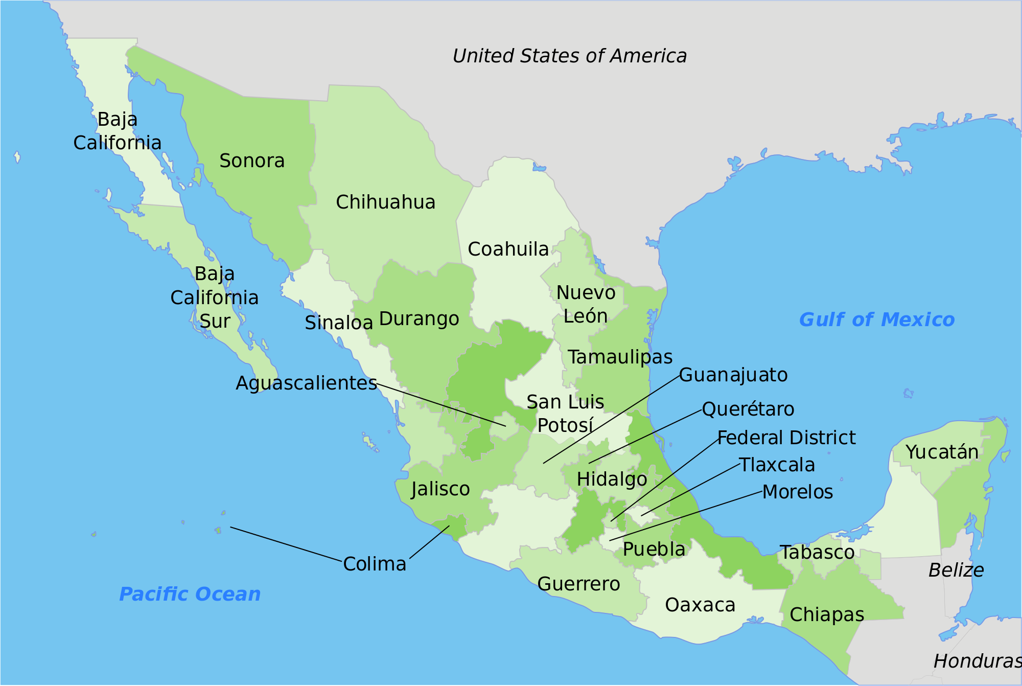 2000x1342 mexico map drawing