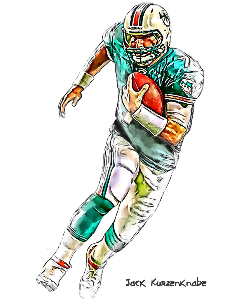819x1024 0 Miami Dolphins Chad Henne View All My Nfl Drawings By
